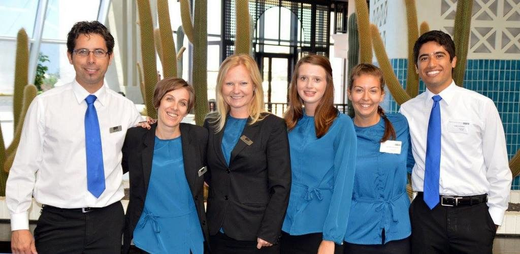 Get to know great people during the internship hotel