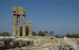 Internship abroad Rhodos-Greece_Lindos and its Akropolis