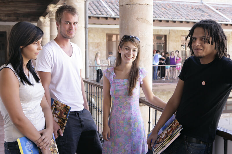 Our Spanish courses in Spain will not only help you learning the new language but also meet new people and get to know Salamanca