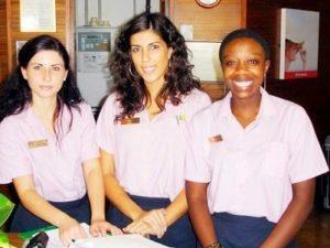 Internship Reception Spa Departement