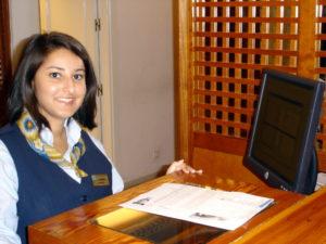 Internship in Reception Golf Club Departement