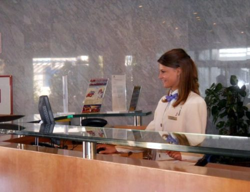 Free position in the reception department