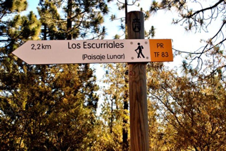 Blog, interns hiking trip to Paisaje Lunar, Tenerife