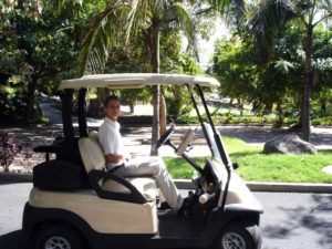 Internship Golf Caddy Departement