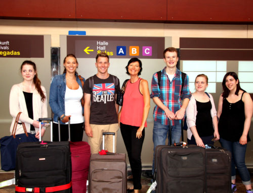 Arrival of our Erasmus+ group
