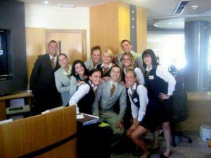 Internship in the Reception Departement