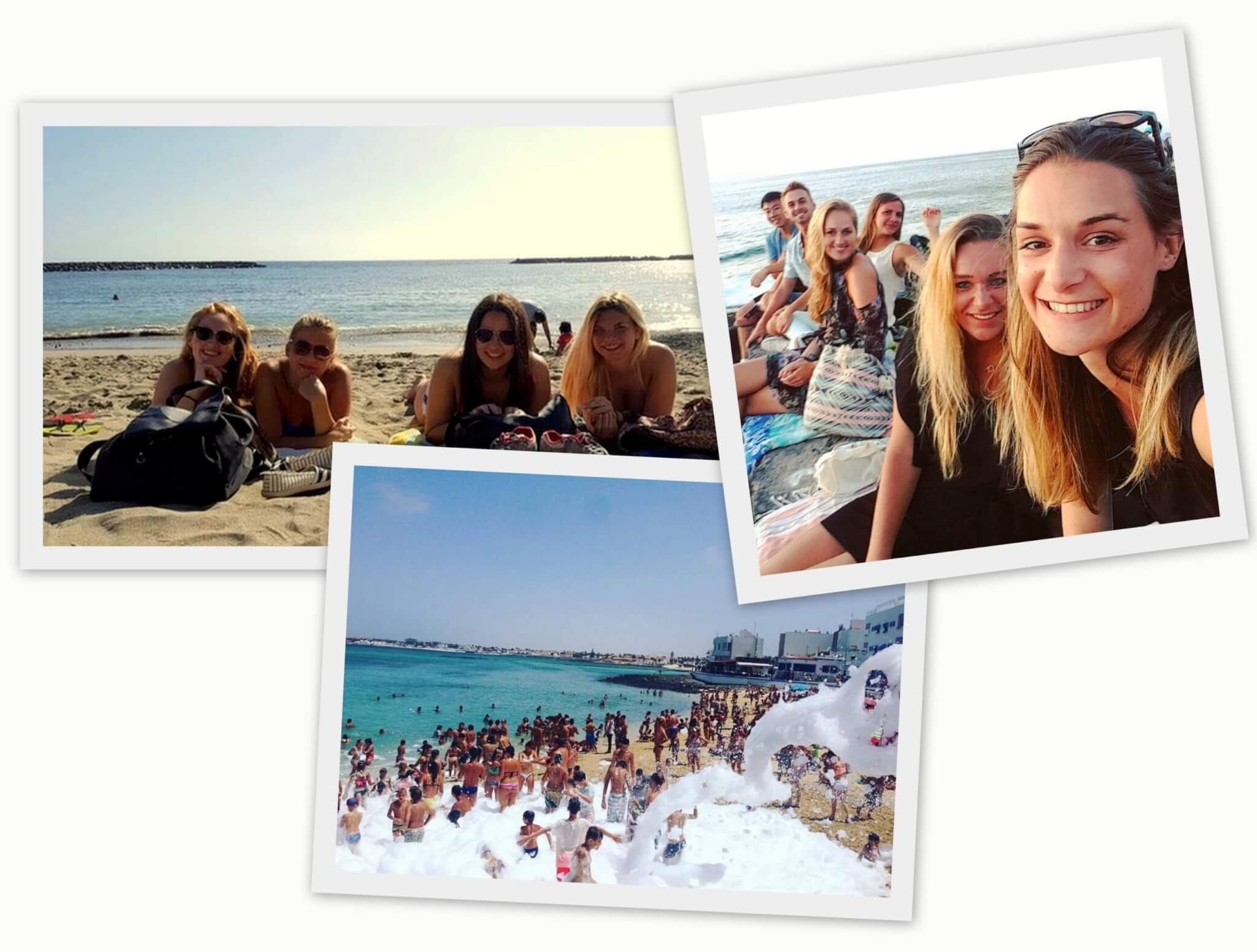 Our interns having fun during their Internships on the Canary Islands, here Tenerife