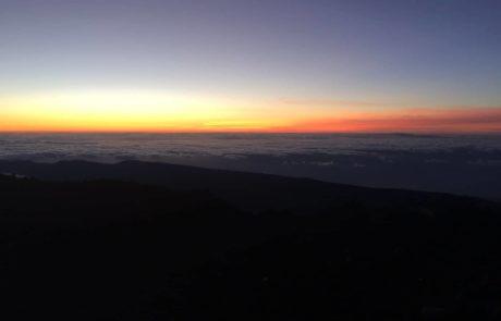 sunrise on teide Sonnenaufgang Teide Teneriffa s-w-e-p